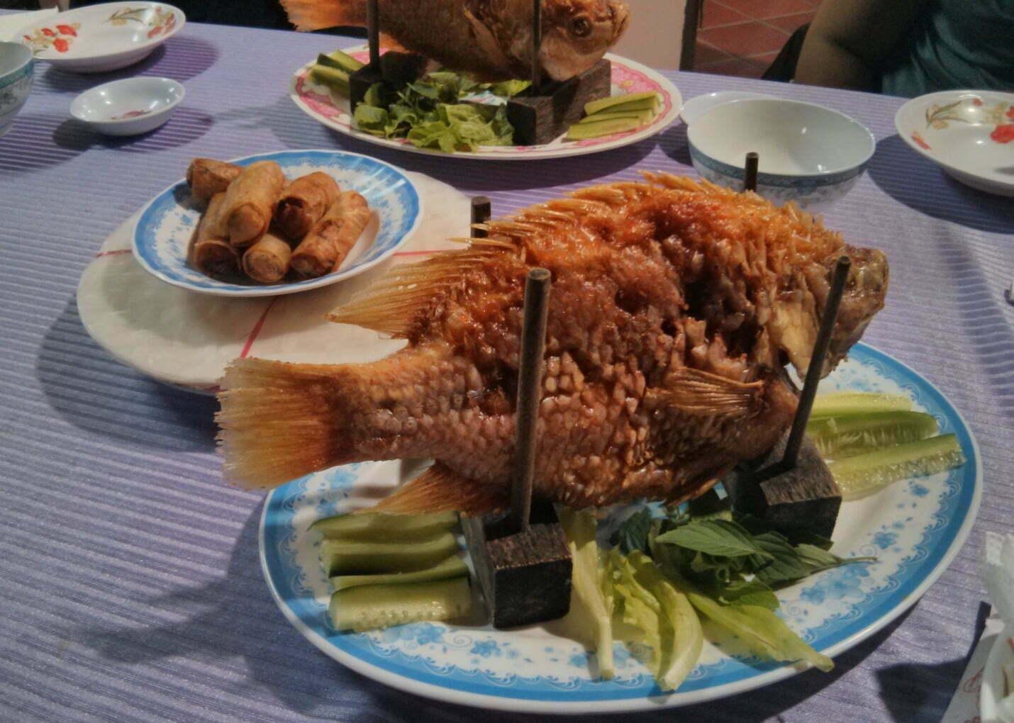 lunch mekong delta